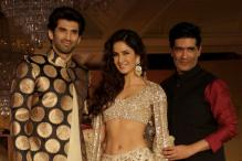 Aditya Roy Kapur, Katrina Kaif turn showstoppers for Manish Malhotra's Sahachari show