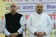 Amit Shah meets Advani to seek his 'blessings'