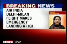 AI flight to Milan makes emergency landing at Delhi airport