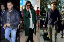 Airport style file: Sonam Kapoor makes heads turn, Salman Khan opts for a dapper look