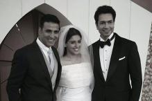 Photo of the day: 'Best Man' Akshay Kumar poses with Rahul-Asin post their Christian wedding