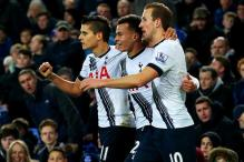 Alli's volley earns Tottenham 1-1 draw at Everton