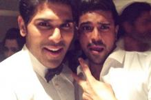 IIFA Utsavam: Host Allu Sirish tweets behind-the-scenes moments with Ram Charan, Ravi Teja
