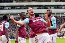 Andy Carroll strikes as West Ham stun Liverpool 2-0 in Premier League