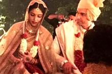First photo of Asin and Rahul Sharma from their Hindu wedding ceremony is out!