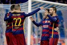 Barcelona beat Espanyol 2-0 to reach Copa del Rey quarter-finals
