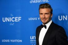 David Beckham receives UNICEF honour