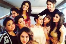 'Bigg Boss 9' finale: Have you seen these behind-the-scenes moments of Kishwer, Priya and Suyyash?