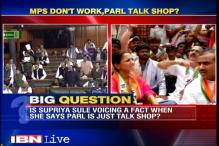 Supriya Sule faces flak for saying MPs discussing sarees in Parliament during important debates