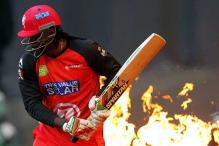 West Indies batsman Chris Gayle under fire again for BBL no-run