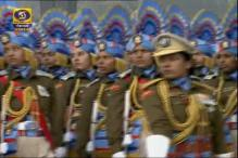 All women CRPF contingent at R-Day