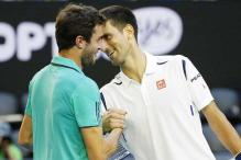 Novak Djokovic suffers 'brain freeze' in Gilles Simon scare
