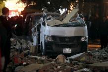 9 killed in explosion near Egypt's Giza pyramids