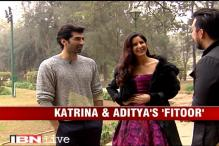 e Lounge: Katrina Kaif, Aditya Roy Kapoor on their upcoming movie 'Fitoor'