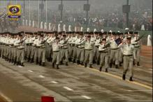 Watch: French contingent parade at Rajpath on Republic Day