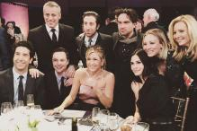 The one where 'Friends' cast met actors from 'Big Bang Theory'