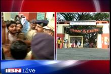 FTII row: Protests against Gajendra Chauhan turns violent, students detained