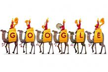 Google salutes India's Republic Day with a BSF camel contingent doodle