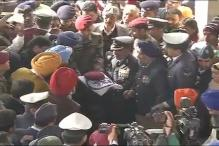 Last rites of martyr Gursewak Singh performed with full military honours