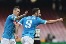 Serie A: Higuain nets again as Napoli beat Empoli to reclaim top spot