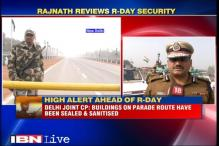 High alert ahead of R-Day in Delhi