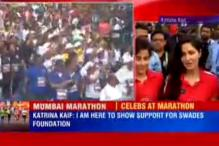 Excited to be at Mumbai Marathon: Katrina Kaif