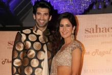 Katrina Kaif, Aditya Roy Kapur to flaunt Tarun Tahiliani's new line on ramp