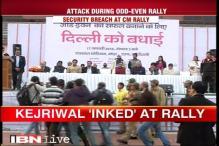Political war breaks out between BJP-AAP over ink attack on Kejriwal