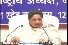 PM's emotional outburst over Rohith's suicide is driven by politics, says Mayawati