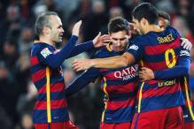 Before La Liga clash, Barcelona and Atletico Madrid aim to advance in Copa del Rey