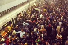 Old photo of a crowded metro station in Delhi goes viral; Twitter reacts with hilarious puns on odd-even rule