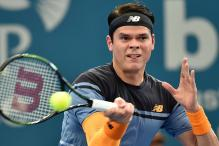 Milos Raonic wins at Brisbane International, advances to quarters