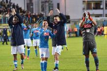 Serie A: Five-goal Napoli go top after Inter Milan lose at home