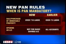 New PAN rule comes into effect from January 1