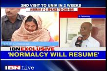 Politicians are welcome in Hyderabad University, but learning should not be disrupted: Interim VC