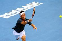 Kei Nishikori, Victoria Azarenka move through to Brisbane quarters