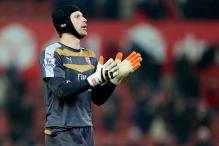 Is Petr Cech still with Chelsea? Adidas thought so for a while