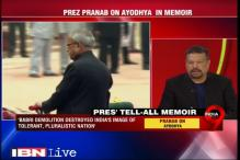 Babri masjid demoliation was Narasimha Rao's biggest failure, says Pranab Mukherjee