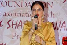 Rekha honoured with 3rd National Yash Chopra Memorial Award