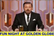 Golden Globes 2016: When host Ricky Gervais made fun of the Hollywood Foreign Press