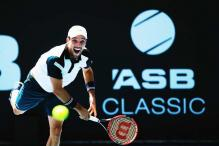 Roberto Bautista Agut wins Auckland Classic title after Jack Sock retires ill