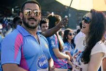 Snapped! Salman Khan, Preity Zinta are all smiles as they reunite at the CCL match