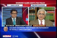 Khurshid slams NDA's Pak police