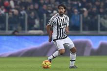 Juventus midfielder Khedira out for 2-3 weeks