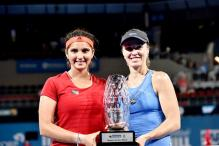 Sania Mirza-Martina Hingis clinch Brisbane International title