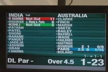 Michael Clarke comes out of retirement but only as mistake on scoreboard