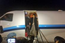 Sushma Swaraj reaches Israel on two-day visit
