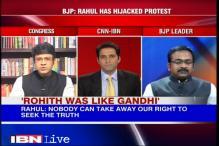 Political slugfest continues over Rohith Vemula's death