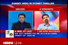 Good to see Manish Pandey winning the match for India: Kris Srikkanth