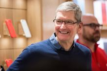 Apple paid CEO Tim Cook $10.3 million in 2015; Cook lowest-paid of top Apple executives